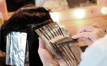 髪質改善ケラチンリペアカラー