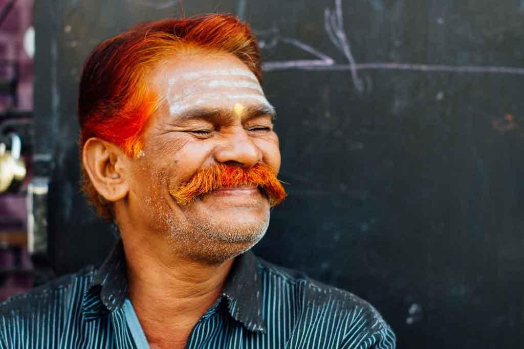 インドではヘナは男性に人気